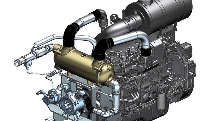 Industriemotoren für die Schifffahrt