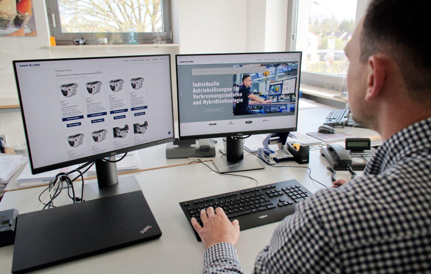 Neue Website für Sauer & Sohn Motorentechnik